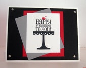 Happy Everything with a Cherry on the Top Greeting Card