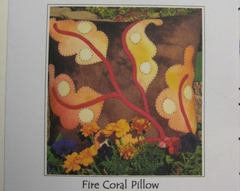 Pattern - FIRE CORAL PILLOW