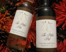 The Perfect Personalized Favor - Mini Wine Bottle Labels - Custom Design and Printing