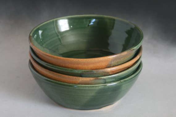 Set of four bowls in Ivy and Cork for soup cereal ice cream