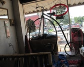 Vintage Penny Farthing Replica Boneshaker Bicycle