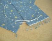 MAGICKAL STARS Tarot Card Bag/Pouch and Matching Altar Cloth FREE matching giftbag - free U.S.shippimng