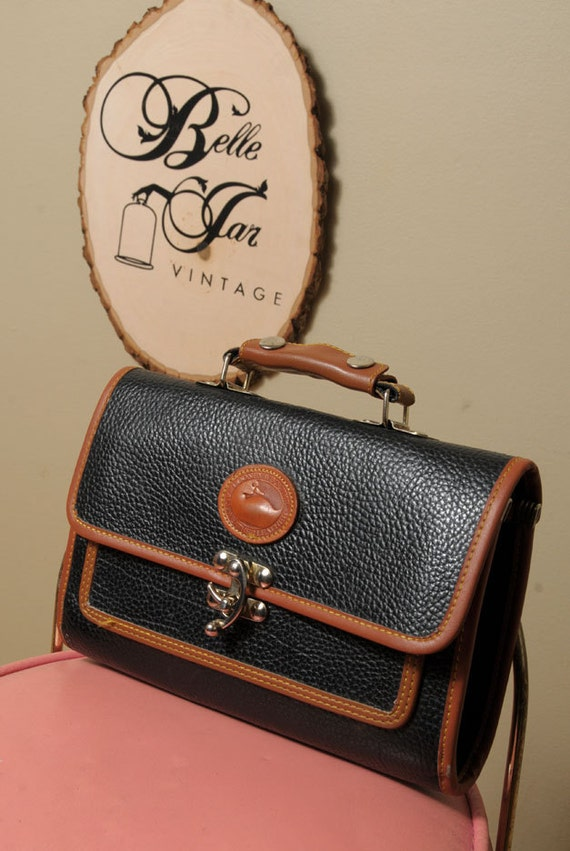 DOONEY & BURKE Repro Leather Clutch Carry Travel Casual Trendy Business