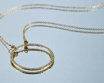 Eternity Necklace - 14kt Gold Filled