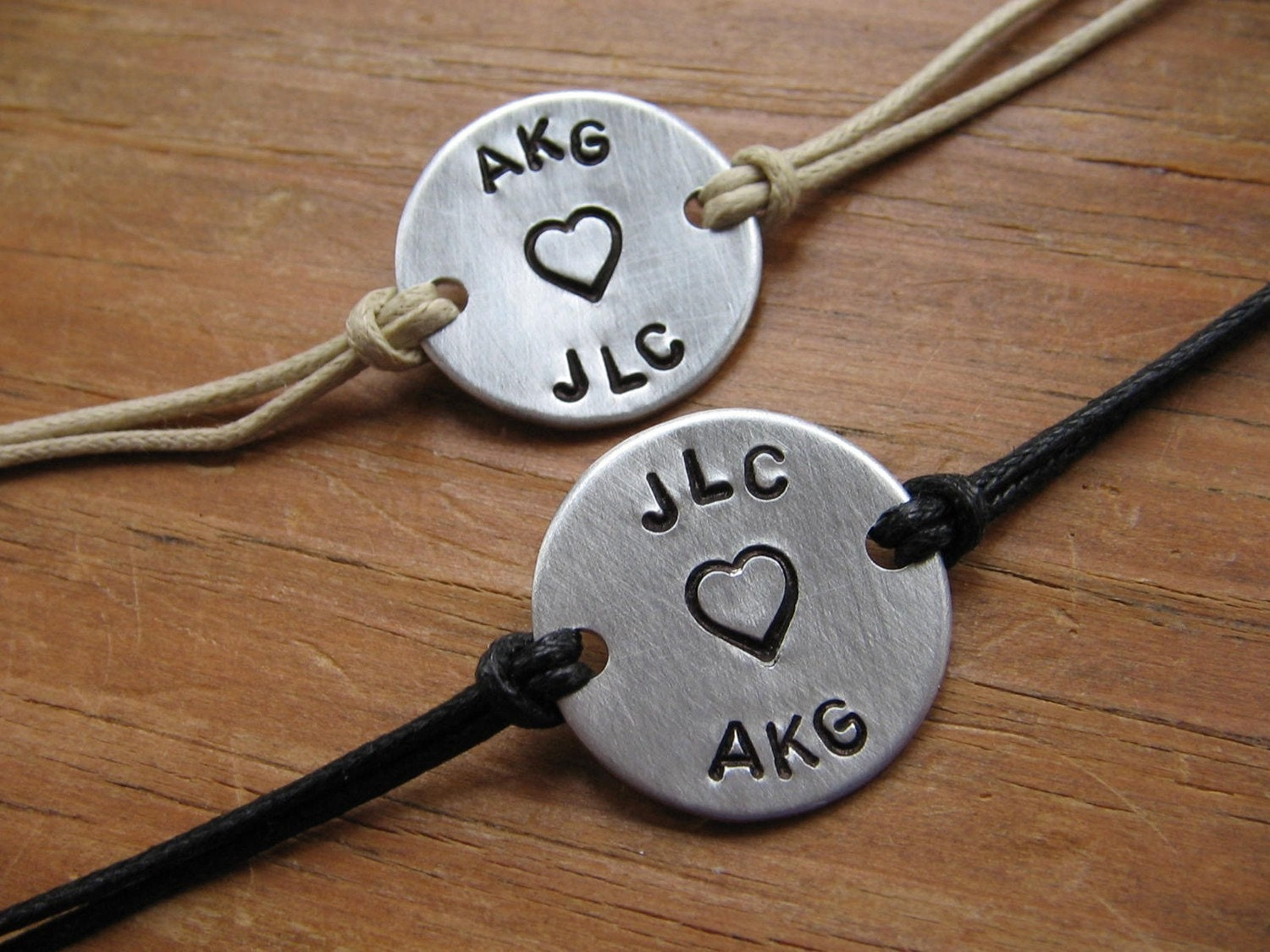 Personalized Couples Bracelets Couples Bracelets His and