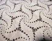 brown hand-made doily