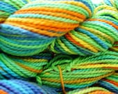 Spring Garden Hand dyed Pure Cotton DK - multicolour