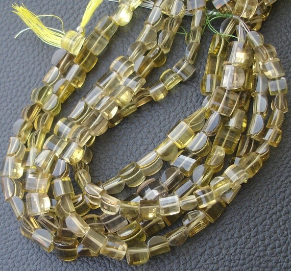 8 Inches Strand, Bio-Beer Quartz Smooth Fancy Shape Beads, 8-8.5mm Long size,Gorgeous