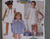 Girls Cabbage Patch Kids BUTTERICK Pattern Dress Size 6X