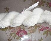 Michigan Hand Raised Angora Rabbit Fiber - Mill Spun Yarn -  2 ounces