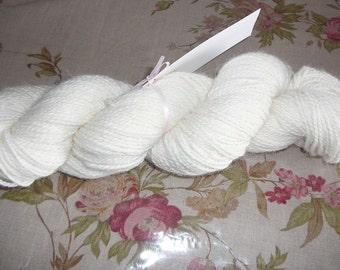 Mill Spun Fingering Weight  Angora/ Merino/Silk Yarn - Humanly Raised Angora