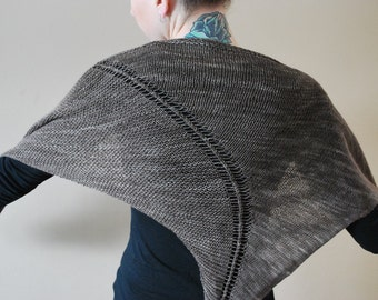 ASKEW  Shawl PDF Pattern