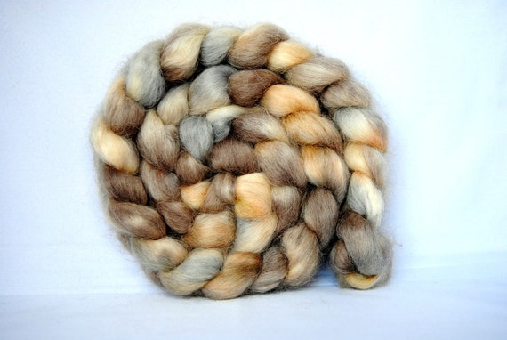SANDS Hand-Dyed Devon Combed Top/Roving-4 ounces