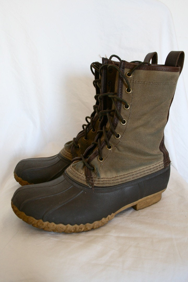 Awesome Womens Bean Boots By LLBean Bison 8 Rain Boots