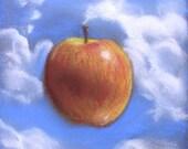 behnes Floating apple pastel print