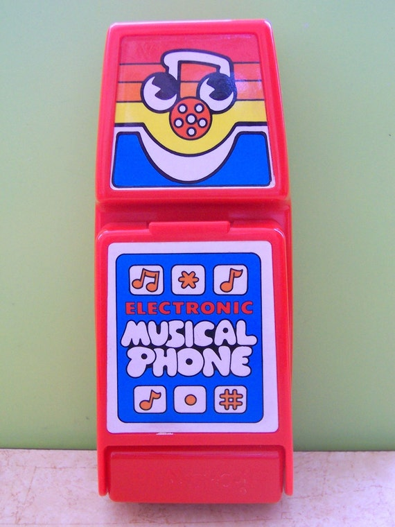 Electronic Toys 1980s 80s 1980s Toy Cell Phone