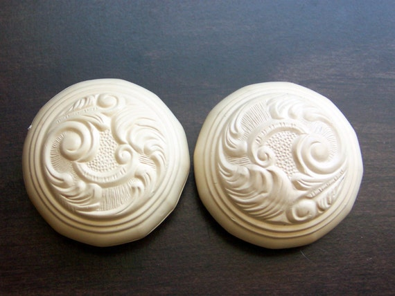 2 Vintage Decorative Door Knob Handle Covers By Novelty Trim