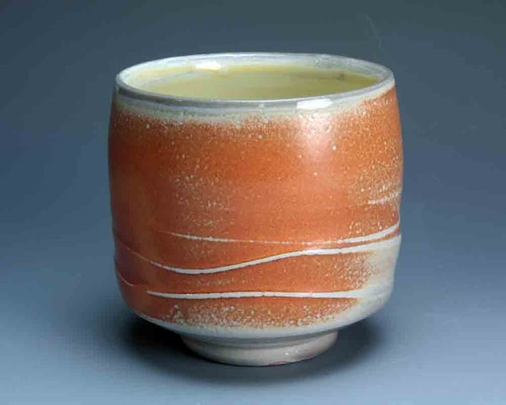 Soda Fired Tea Cup/Bowl - Japanese Yunomi