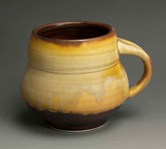 Porcelain handcrafted coffee mug or tea cup 486