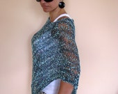 SUMMER NIGHTS - Luxury and Elegant Poncho