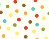 PRE ORDER - Bungle Jungle (July)  - Bungle Dot in Natural - SKU 39505 11 - by Tim and Beck for Moda Fabrics - 1 Yard
