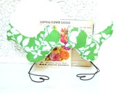 Modern Green and White Leaf Love Bird Wedding Cake Toppers, Spring Wedding, Wedding Gift, Baby Shower Decor, Nursery Decor
