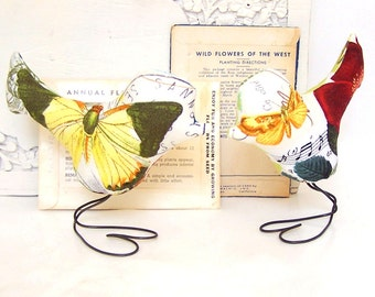 Love Bird Wedding Cake Topper, Butterfly Postage, Romantic Music, Outdoor Spring Wedding, Home Decor, Baby Nursery Decor