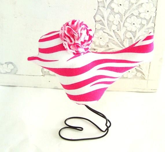 Hot Pink Zebra Bathroom Accessories: Items Similar To Hot Pink Zebra Love Bird, Nursery Home