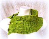 Direct Download Flowers and Leaves PDF Knitting Pattern