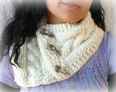 Tiny Sky COwl, PDF knitting Pattern