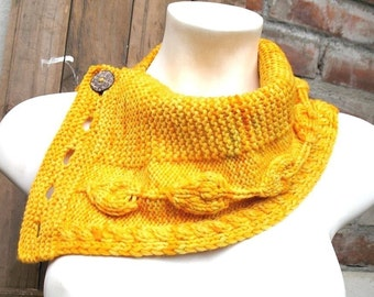 Direct Download Esperanza cowl Original knitting Pattern