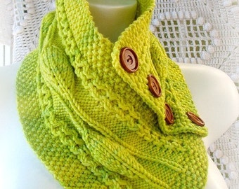 Gorgeous Cowl PDF Knitting Pattern