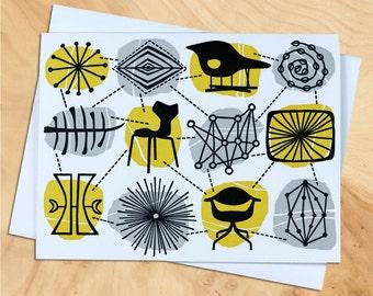 Handmade Letterpress Freeform