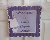 Welcome Door Sign-Bridal Shower  custom listing for Marrianne