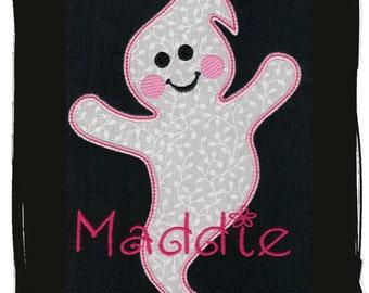 Ghost Machine Embroidery Applique Design