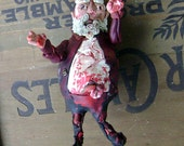 Reserved for Debra Evil Zombie Kitty ornament