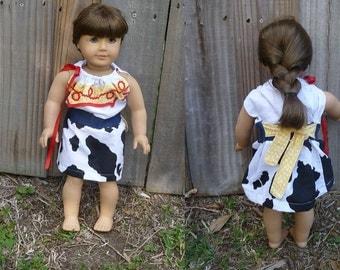Jessie American Girl Doll Dress