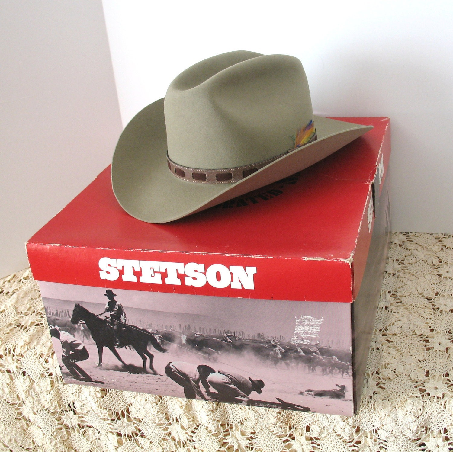 dating stetson hat boxes Buy stetson men's 6x open road fur felt cowboy hat - sfoprd-052661 silver belly: shop top fashion brands cowboy hats at amazoncom ✓ free delivery and returns possible on eligible but, be forewarned, they're not gonna ship it to you in the wonderful stetson box that you're used to having your hat come in.