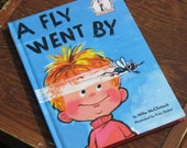 RESERVED YARN GRAPHICS - Vintage Book, Children, A Fly Went By, 1986, Illustrated