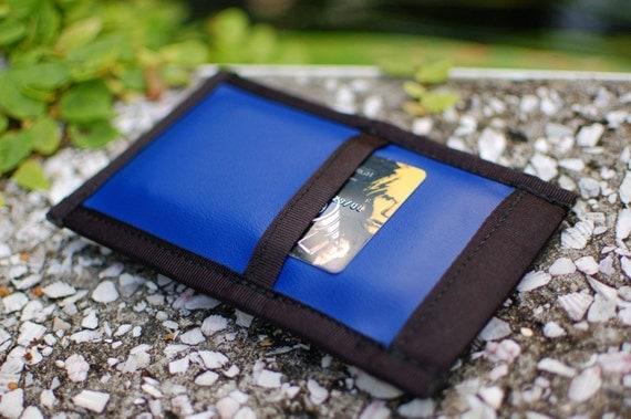 Phone Sleeve v.2 - Blue with Black Trim