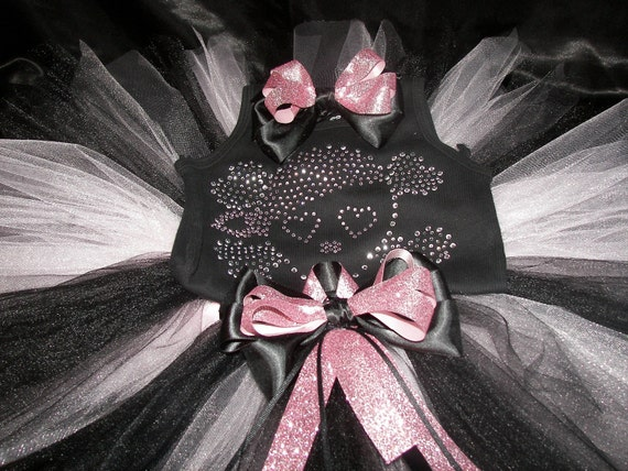 Pink Pirate Princess Boutique BLING Tutu Set--Perfect for Parties or Halloween--