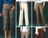 Simplicity 4366 Threads Magazine Collection Pants Pattern Uncut