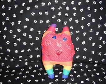 Rainbow / Pocket Doll / softie monster doll / softie monster