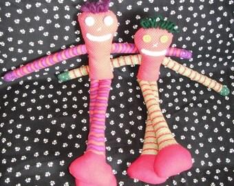 Rag Doll / Handmade Doll / Fabric Doll