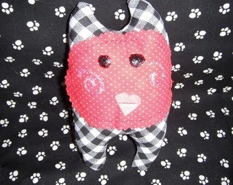 Pocket Pal With Valentine Heart Mouth