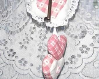 Key to My Heart Fabric Valentine