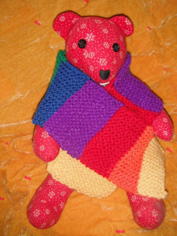 Child's Rainbow Scarf