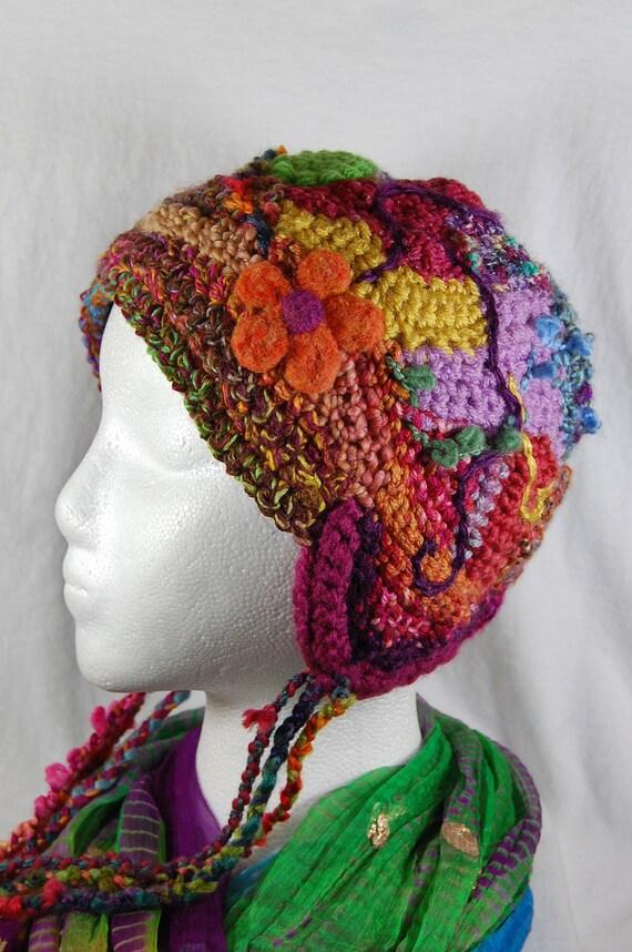 Freeform Crochet Hat - Crochet Hat