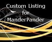 Custom Listing for ManderPander