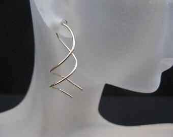 Twist ON Earrings 14 K Gold Filled